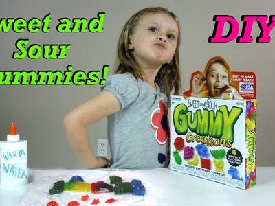DIY Gummies | Making Sweet and Sour Gummy Creations!