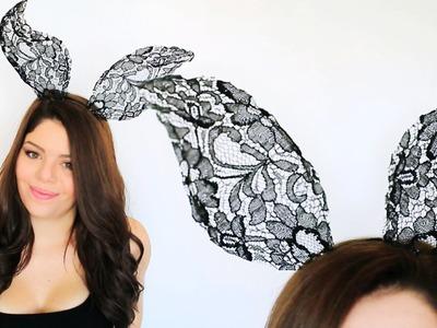DIY LACE ANIMAL EARS