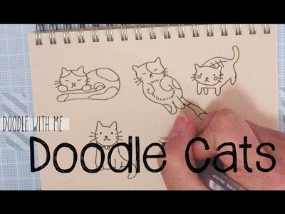 Doodle with Me: Cats