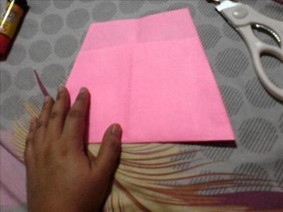 "Gift wrapping idea ""purse"""