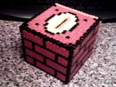 Hama Bead 3D Mario Money Box