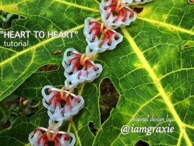 HEART TO HEART Hook Only bracelet tutorial