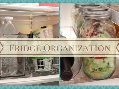 HOME ORGANIZATION: Fridge Organization and Tips
