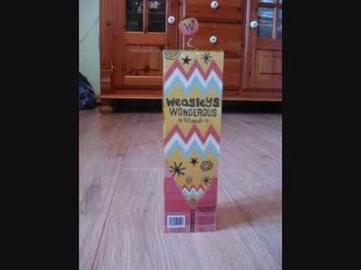 Homemade Harry Potter Honeydukes and Weasleys' Wizard Wheezes items
