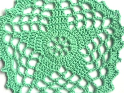 How To Make A Cute Crochet Doily With A Star - DIY Crafts Tutorial - Guidecentral
