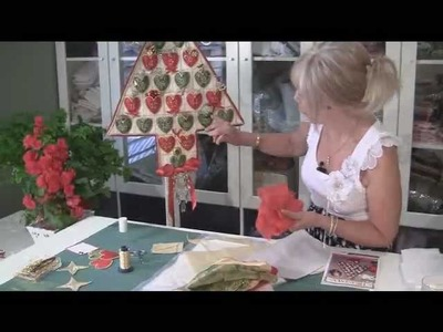 "How to make Jenny's ""I Need A Little Christmas Advent Calendar'."