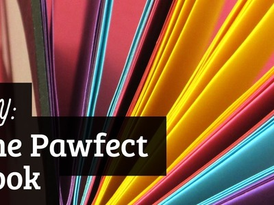 How to Make the Pawfect Book: Coptic Stitch April Fools