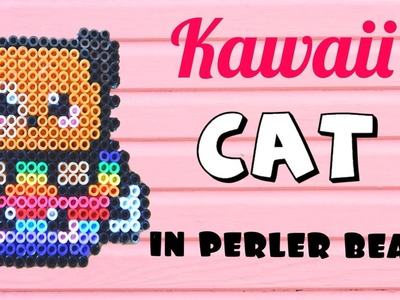 Kawaii CAT Perler Bead Creation Tutorial