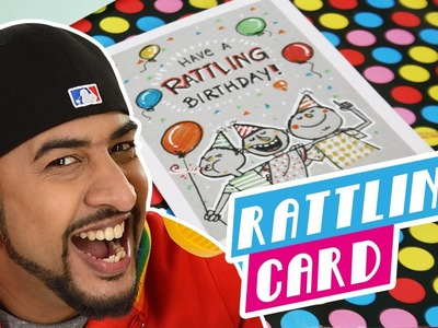 Mad Stuff with Rob - How To Make a Rattling Card | DIY Craft For Children