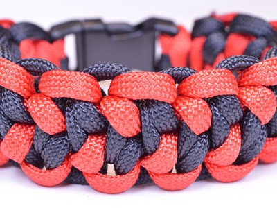 Make a Paracord Survival Bracelet - The Lizard Belly - BoredParacord