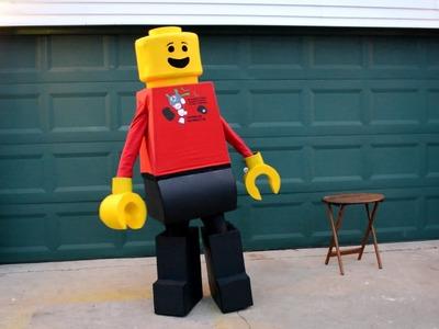 My Homemade LEGO Costume