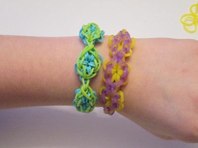 My new original  Triple Flower Rainbow Loom Bracelet design