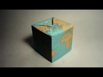 Origami Globe in a Box