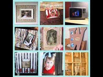 Picture frame craft decoration ideas