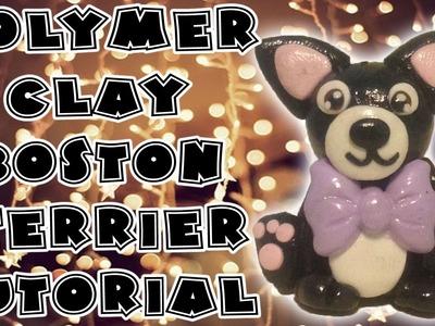 Polymer Clay Boston Terrier Tutorial