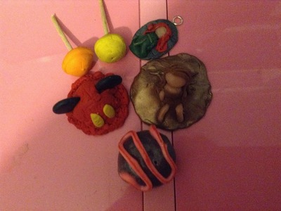 Polymer clay do you want me to do a tutorial on