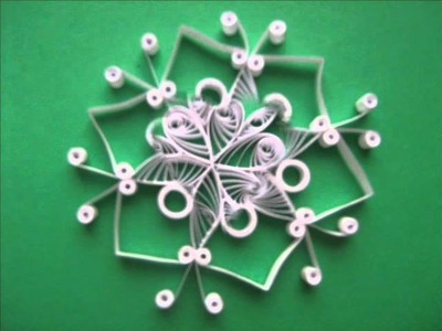 Quilling eggs, cards and snowflakes