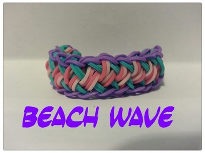 Rainbow Loom - Beach Waves - Original Design