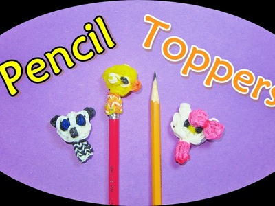 Rainbow Loom Charms: Flappy Bird Pencil Topper