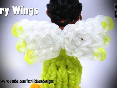 Rainbow Loom - Detachable Fairy Wings.Charm ©Izzalicious Designs 2014