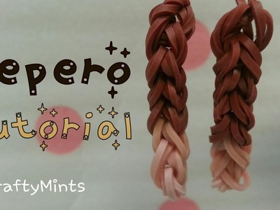 Rainbow Loom Pepero.Pocky Charm tutorial {RainbowLoom||Crafty Mints}