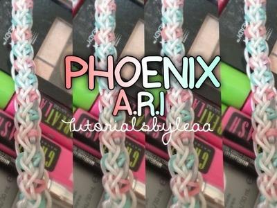 Rainbowloom PHOENIX A.R.I bracelet Tutorial|tutorialsbyleaa