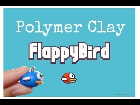 Tutorial : Polymer Clay Flappy BIrd