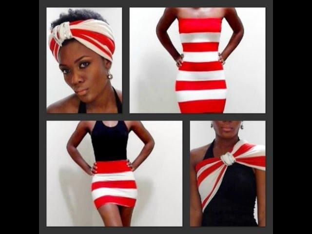 Wear One Dress 24 Different ways!