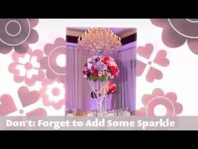 Wedding Flowers And Reception Ideas | Wedding Reception Ideas | Wedding Reception Decoration Ideas