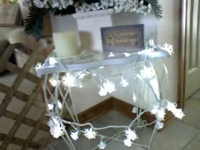 Winter Twinkle Snowflake Lights