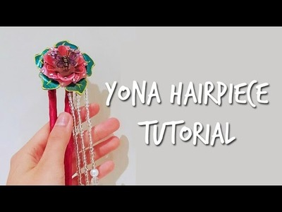 Yona's Hair Piece Tutorial [Akatsuki no Yona]