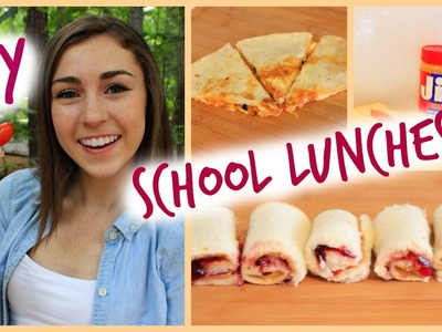 Back to School DIY Lunches 2014!