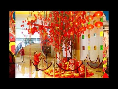Chinese new year decorations ideas for 2014 chinese new year