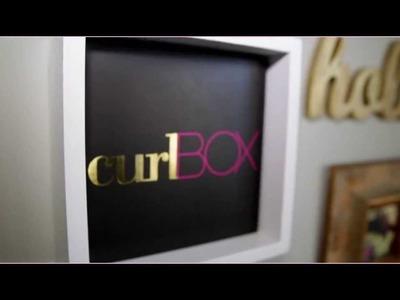 CurlBOX TV | Epi #2 Teaser: Home Decor With Myleik