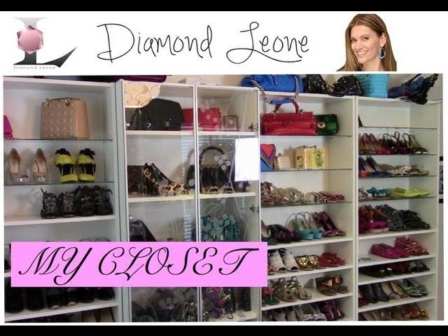 DiamondLeone.com- How to do an Ikea closet makeover on a budget
