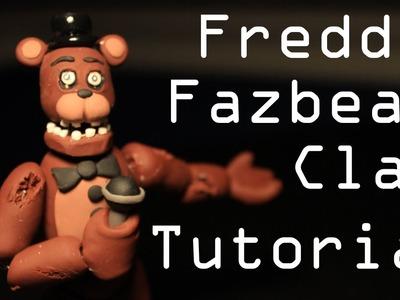 Freddy Fazbear Polymer Clay Tutorial!