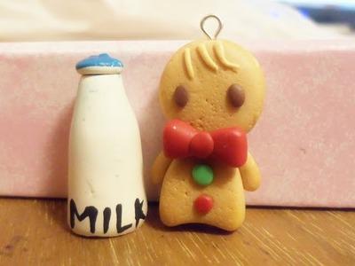 Gingerbread Man tutorial ~ Polymer clay [HD]