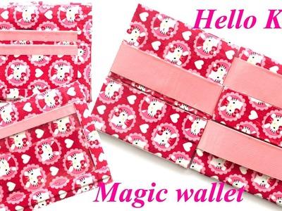 Hello Kitty Duct Tape Magic Wallet!