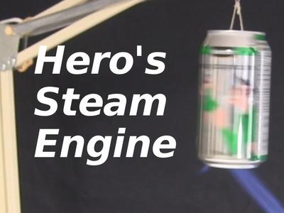 Hero's Steam Engine using Soda Can