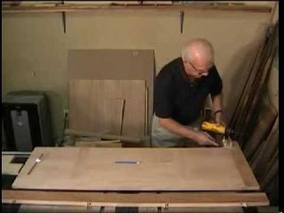 How to Build the Dowelmax TV Stand Part 4 - Building the Mitered Top