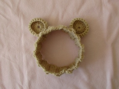How to crochet a teddy bear headband - crochet for beginners