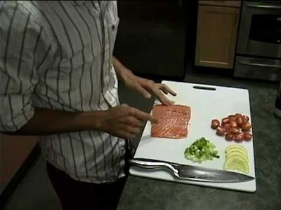 How to Fry Salmon by Z