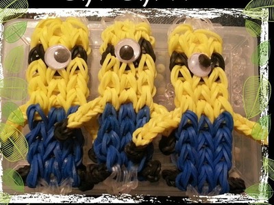 How to Make a Minion Rainbow Loom Bracelet