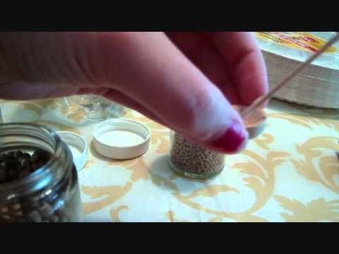 How To Make Miniature Dollhouse Nuts