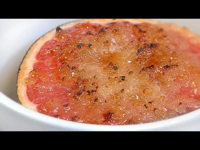 How To Make Texas Grapefruit Broiled With Vanilla