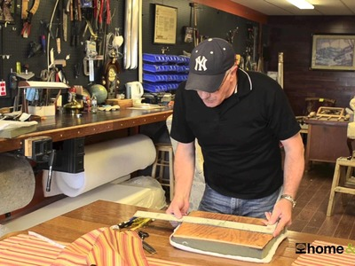 How to reupholster a chair seat with Barry Murphy, master upholsterer