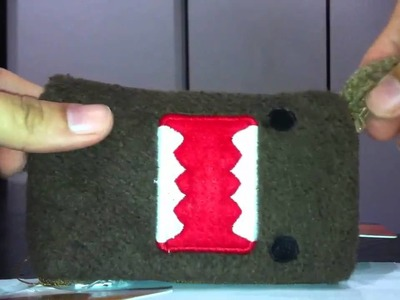 How to use domokun handphone cover pouch with zip