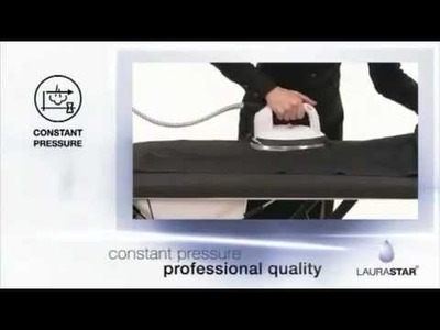 How to use LAURASTAR PREMIUM S3 Ironing System