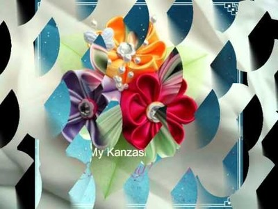 My Kanzashi Flower