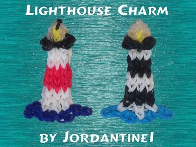 New Lighthouse Figure Charm - Rainbow Loom, Crazy Loom, Fun Loom, Wonder Loom